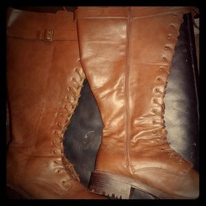 Torrid wide calf knee high boots 11.5